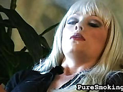 Smoking Masturbation with Layla Jade