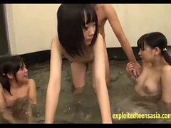 Three Jav Teen Schoolgirls Fucked In Bath Rin Unbelieva...