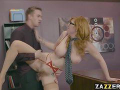 Ms. Phillips big titties gave Mr. Danny a nice titty fuck