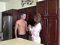 Son take advantage of scared stepmom