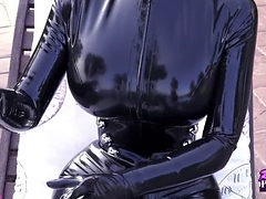 Lucy As Catwoman Is What She Was Told
