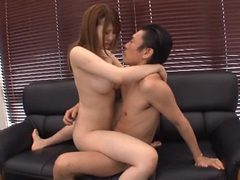 Naughty Boss Having Fun with His Sexy and Busty Japanes...