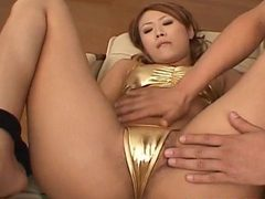 Kasumi Yamane Has Cunt Fucked With Vibrator And Gets Cu...