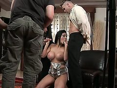 Sexy siren Aletta Ocean is sharing her juicy pussy and ...