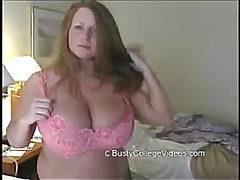 Blonde Busty BBW Audition