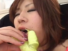 Yui Tomoe Gets Naughty With Her Toys