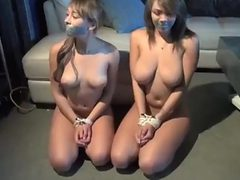 Sexy policewomen abused and fondled
