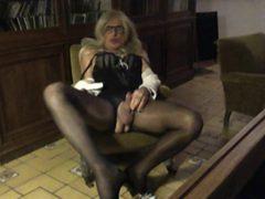 PANTYHOSE COLLANTS TV TS TRANNY SISSY TRAV  SALOPE
