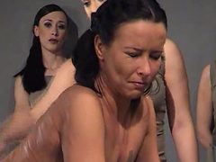 Beautiful Girls Get Caned At The Santiago Prison