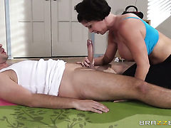 Shay Fox gets her mouth fucked good and hard by Keiran ...