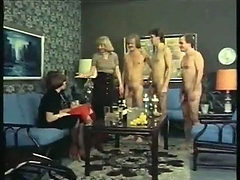 Swingers fuck in the classic porn video