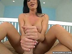 Powerful when she has my cock in her hands (Bang Bros �...