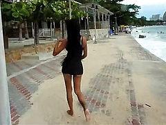 Nicole: Beach Exhibitionist