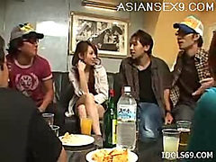 Hikaru Houzuki  Asian Slut Gets Drunk And Masturbates S...