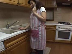 Slutty Japanease Housewife Is Eager To Please Her Mans ...