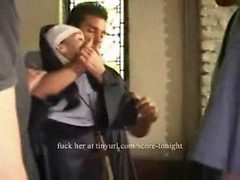 Nun Forced Gangbang In Church
