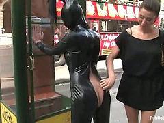 19 year old girl gets punished in public (Kink » Publi...