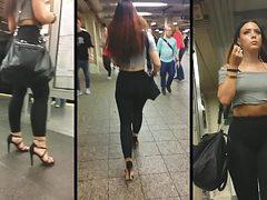Candid Leather (Subway Slut)