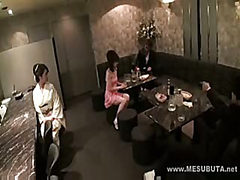 These Japanese babes are getting fucked and played with...