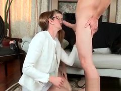 Fellow Is Amusing Young Sweetheart And Mum With Banging