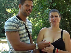 French Ilia Fuck In The Forest Hot Amateur Porn