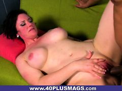 Tattooed Mature Stacy Loves Drilling
