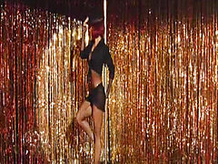 Salma Hayek does very hot striptease at strip club whil...