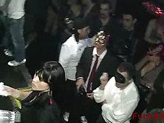 Celebrity orgy