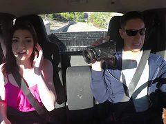 Jessica Rex rides on a strangers cock