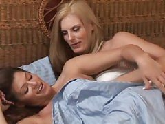 Darryl Hanah and Madelyn Marie sizzling slit fun