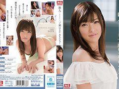 Hottest Japanese model Haruki Ichinose in Horny stripte...