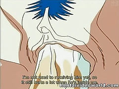 Anime fuck scene with stockings girl