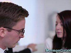 Religious mormon railed