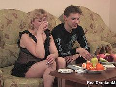 Drunk Russian Mature Marina Sc 1