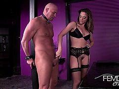 Chanel Preston Fucks Her Slave Then Makes Him Clean Up ...