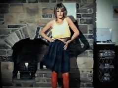 Addicted to love vintage 80 big tits striptease dance
