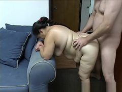 Humping the fat mexican maid...