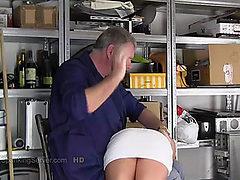 Little caprice workshop otk spank