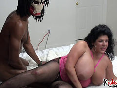 Bbw Wife Can't Get Enough Of This 11 Inch Bbc