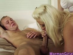 Juggs Mormon Cum Drenched