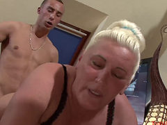 Chunky Granny Getting Fucked Hard