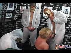 Superstar Shemale Gang Bang #02
