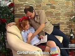 Emilie&Hubert daddy sex action
