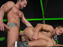 Jimmy Durano & Landon Mycles in The Trainer, Scene #02 ...