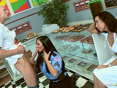 officer bitoni busts cheating doughnut boyfriend