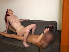 Perfect czech teenie gets tempted in the mall and bange...