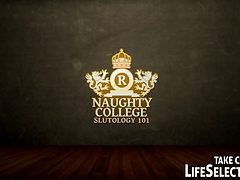 Life Selector Presents: Naughty College - Slutology 101