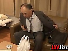 Asian Officer Fucked By A Co-worker