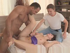 Restrained exgf punished for cheating