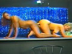Two Lesbian Fucking At A Strip Club